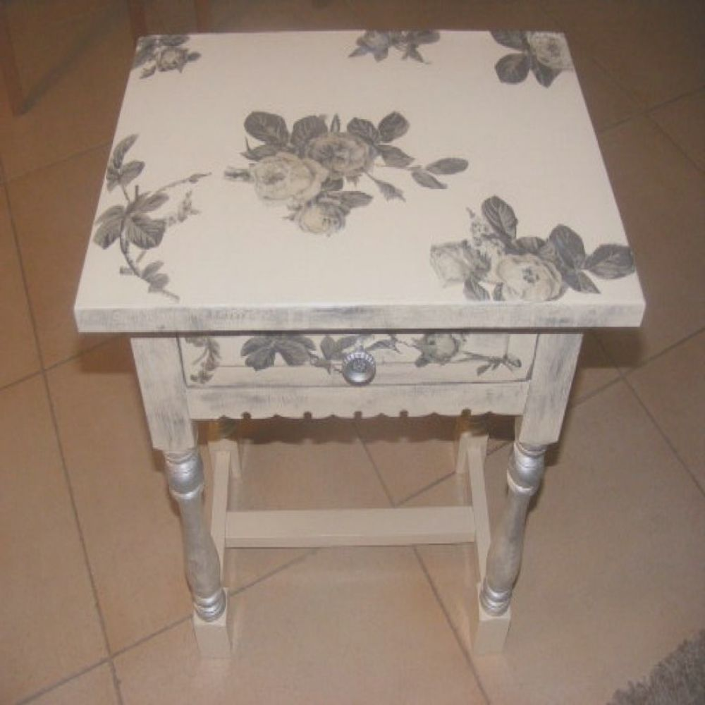 Muebles Decorados Con Decoupage Agradabledecoración De Muebles Con Decoupage 10 Ideas Para
