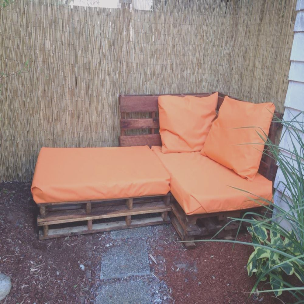 outdoor pallet sofa sectional