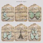 Tag Scrap Nuevoinstant Download Whimsical Dancing Butterflies Gift