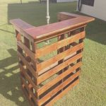 Barras De Bar Hechas Con Palets Impresionantemy Dad Made Me This Bar Out Of Pallets S A Beauty He