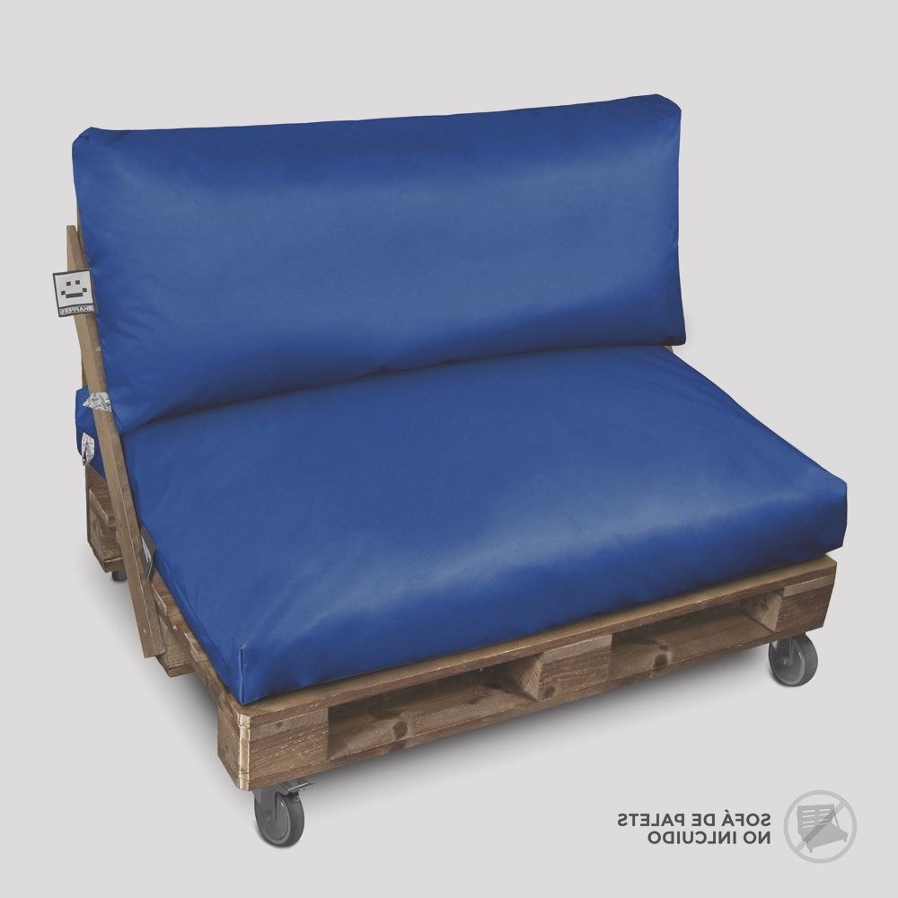 cojines para palets naylim impermeable azul p