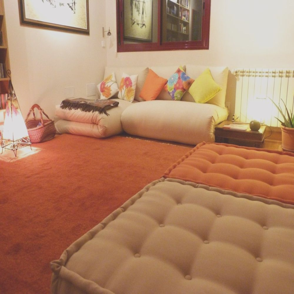 cojines chill out madrid