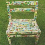 Ideas Decoupage Lo Mejor Depolykromos Upcylcled Chair Decoupage Project