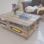 Mesa De Pale Elegantepallet Coffee Table Industrial Style Upcycled