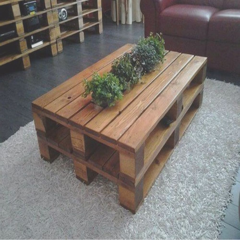 interesting wooden pallet tables recycling ideas