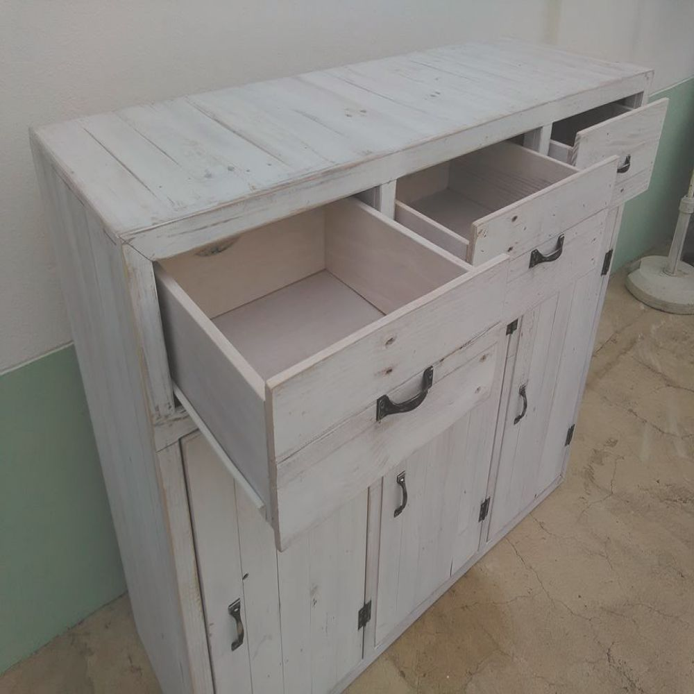 pallet storage unit cabinets and drawers